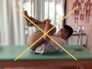 ウイリアムス腰痛体操